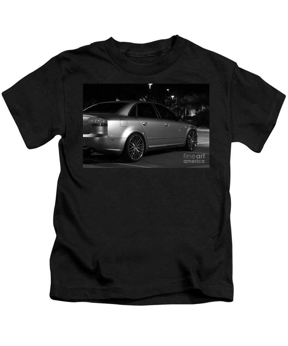 Kids T-Shirt featuring the photograph Audi 2 by Ronald Chacon