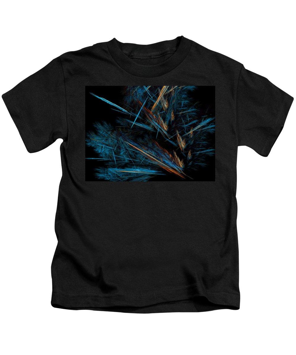Autumn Kids T-Shirt featuring the digital art Autumn Fern by Brainwave Pictures
