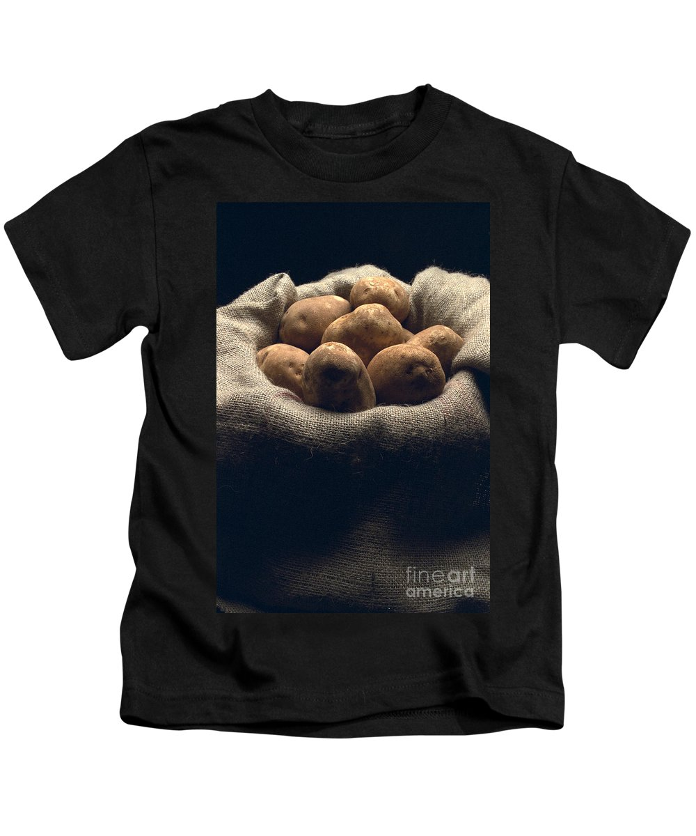 Still Life Kids T-Shirt featuring the photograph Bag Em Up by Thomas Levine