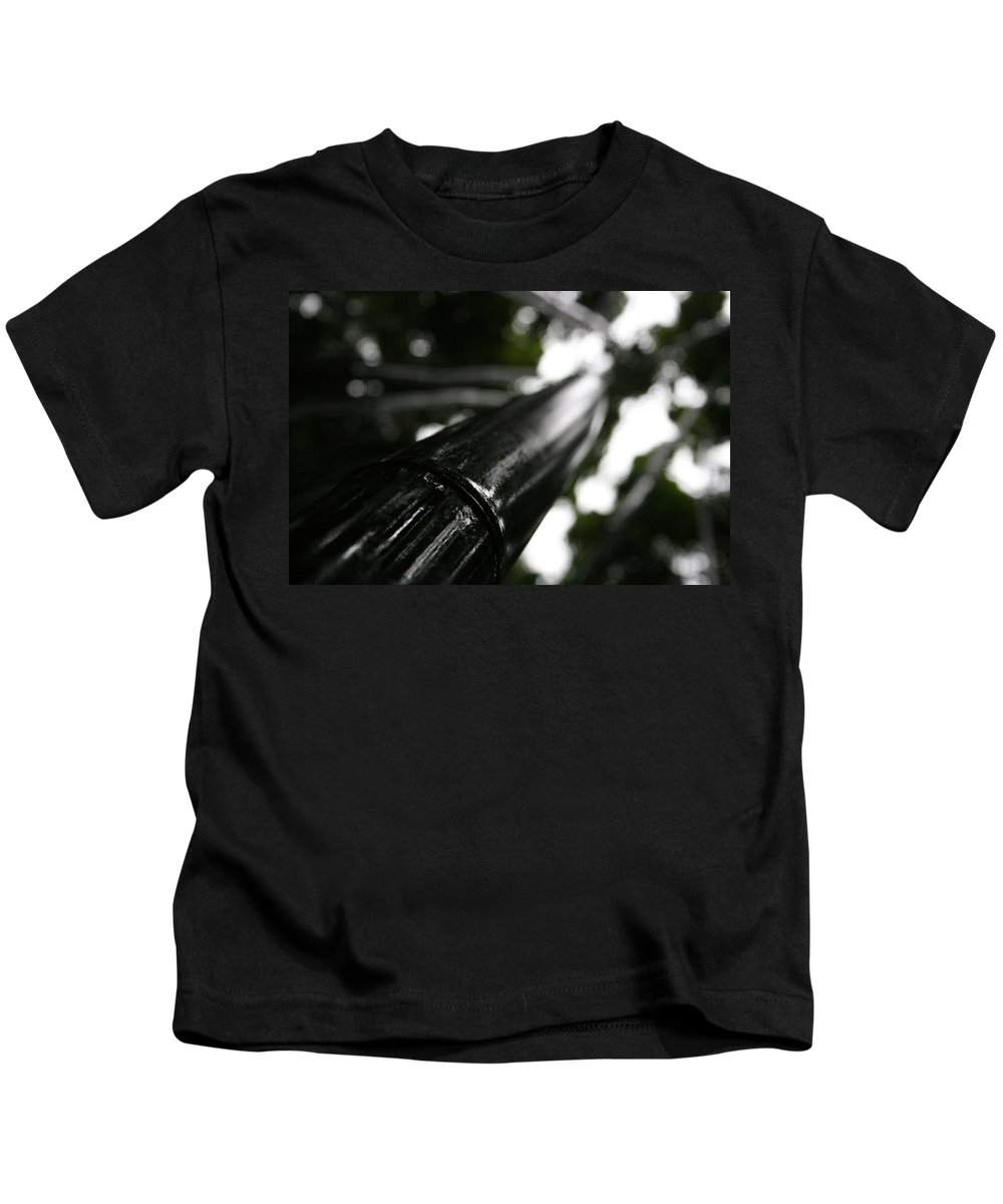 Bamboo Skies Kids T-Shirt featuring the photograph Bamboo Skies 7 by Jennifer Bright