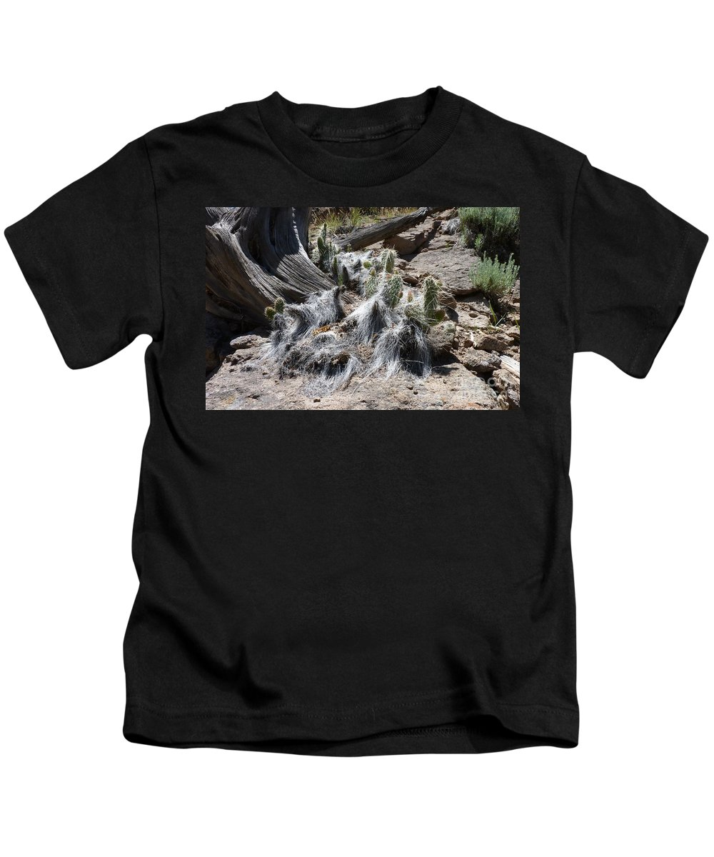 Nature Kids T-Shirt featuring the photograph Bearded by MAK Photography