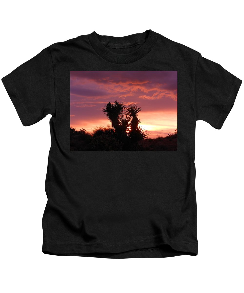 Landscape Kids T-Shirt featuring the photograph Beautiful Sunset In Arizona by James Welch