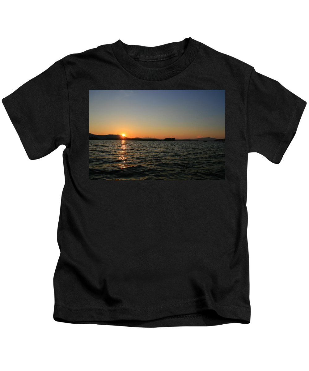 Lake Umbagog Kids T-Shirt featuring the photograph Beauty On The Refuge by Neal Eslinger