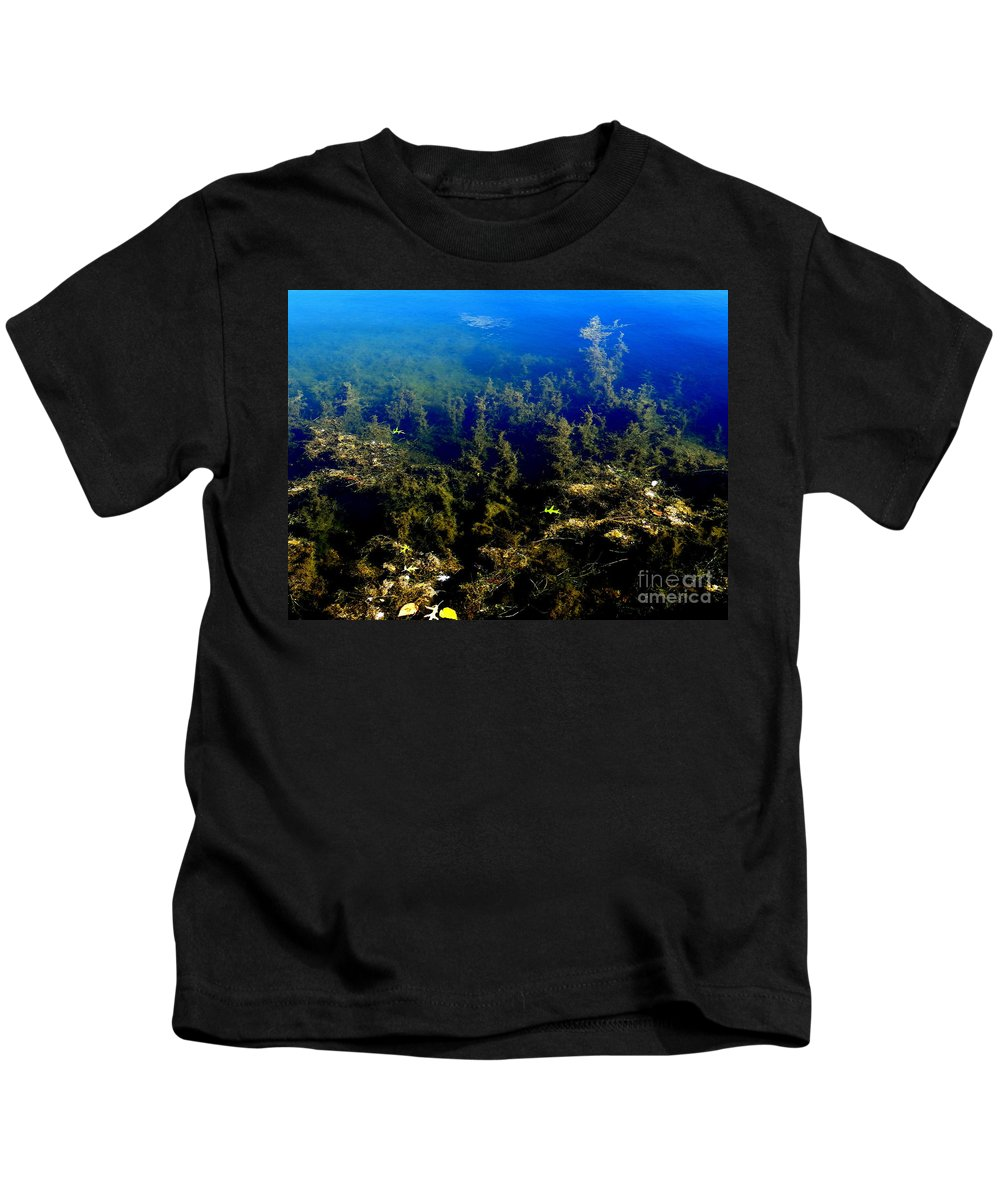 Nature Kids T-Shirt featuring the photograph Below The Surface by Ed Weidman
