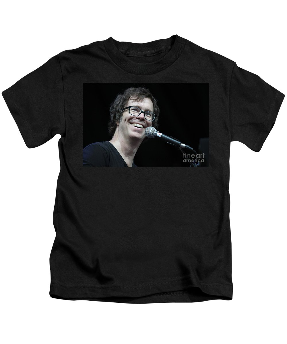 Black t shirt ben folds - Black T Shirt Ben Folds Stage Kids T Shirt Featuring The Photograph Ben Folds Five