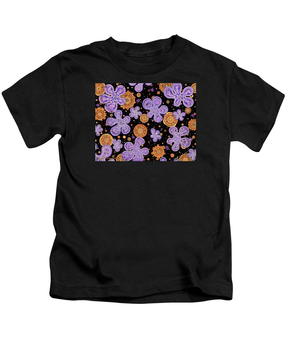 Bigbis Kids T-Shirt featuring the drawing Bigbis Inversion by Dave Migliore