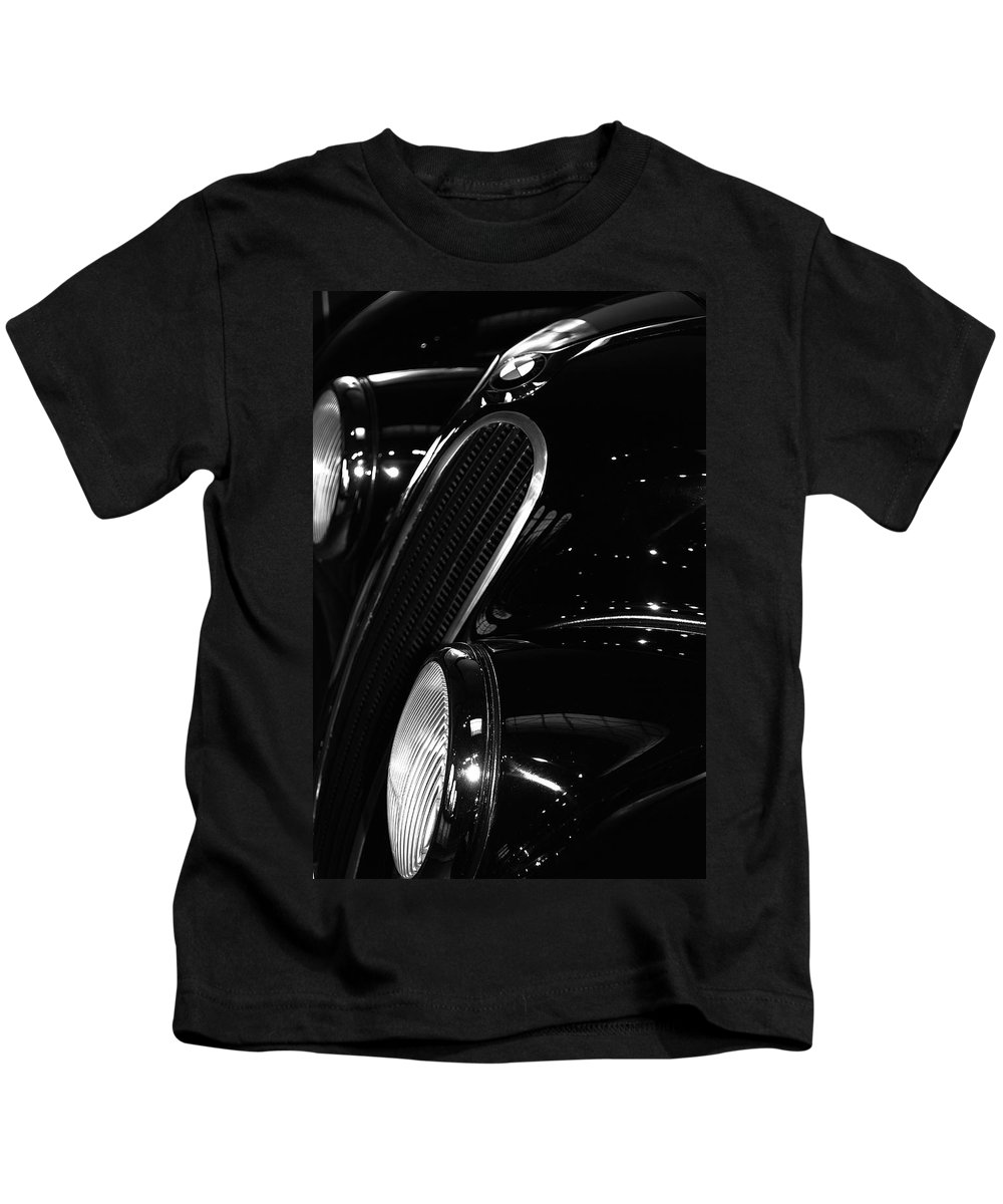 Automobiles Kids T-Shirt featuring the photograph Bimmer by John Schneider