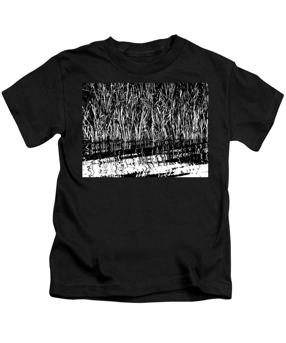 Finland Kids T-Shirt featuring the photograph Black And White by Jouko Lehto
