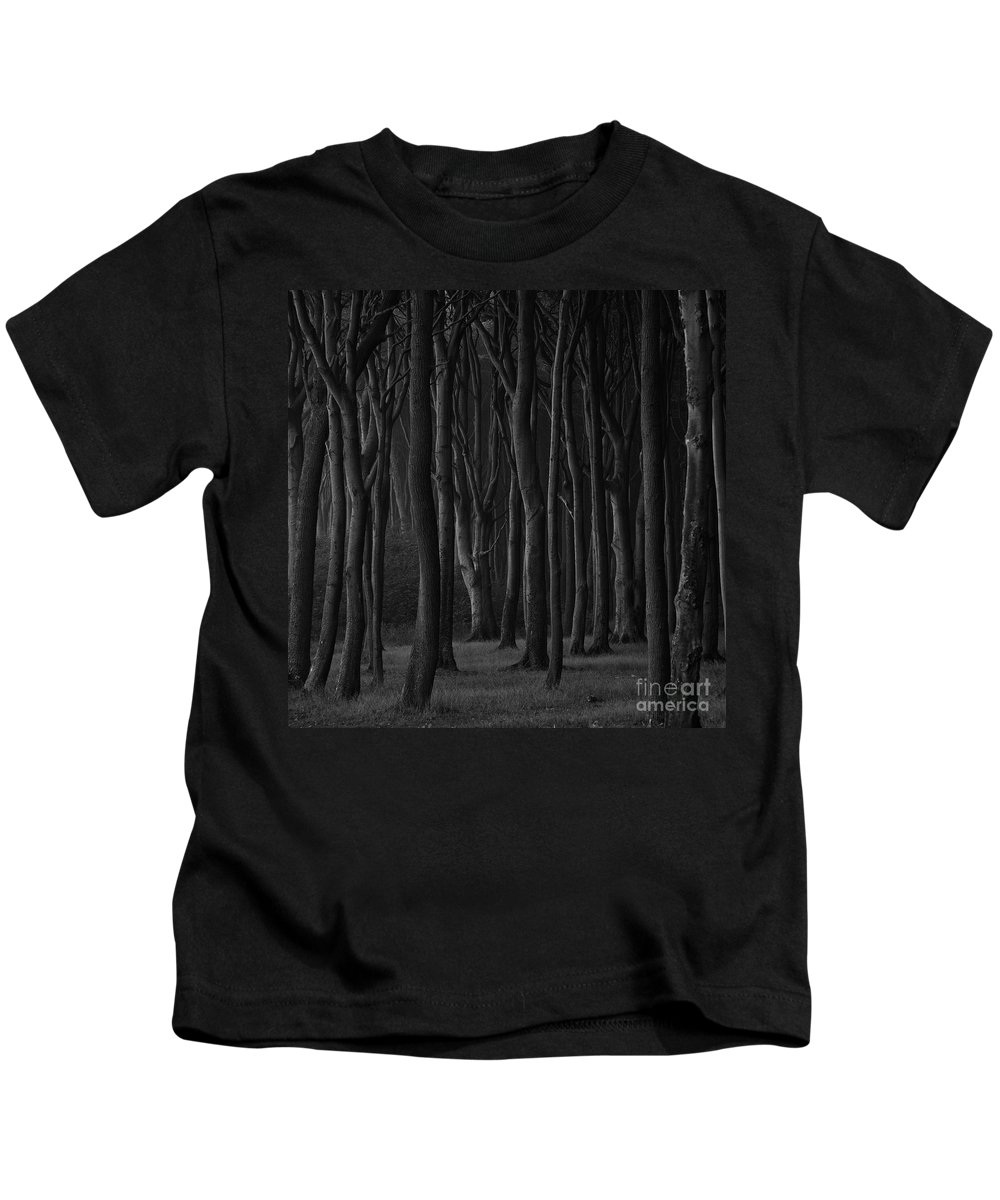 Trees Kids T-Shirt featuring the photograph Black Forest by Heiko Koehrer-Wagner