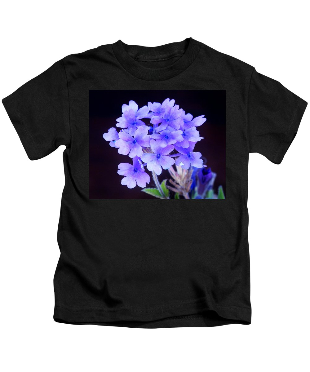 Flower Kids T-Shirt featuring the photograph Verbena by Monique Morin Matson
