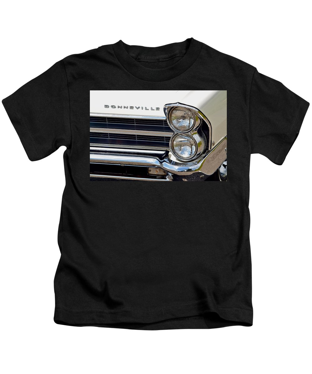 Bonneville Kids T-Shirt featuring the photograph Bonneville by Frozen in Time Fine Art Photography