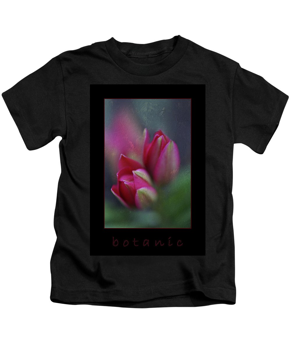 Flower Kids T-Shirt featuring the photograph Botanic by Annie Snel