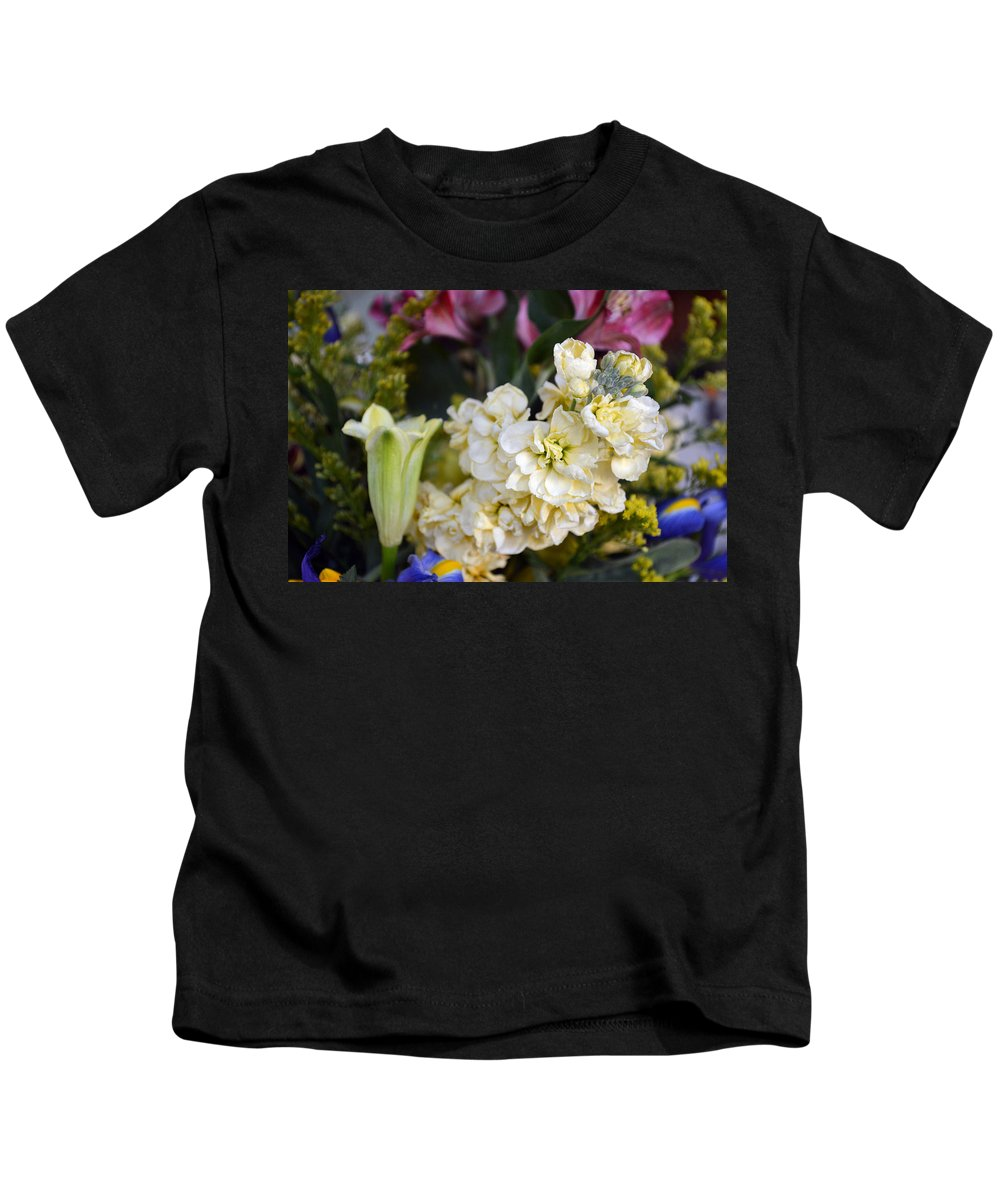 Exotic Kids T-Shirt featuring the photograph Bouquet Flower by Brent Dolliver