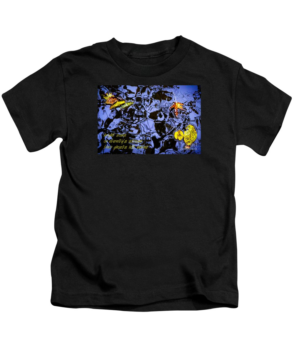 Defiance Kids T-Shirt featuring the photograph Bright Souls by Michael Arend
