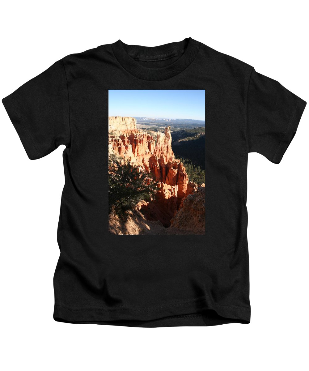 Canyon Kids T-Shirt featuring the photograph Bryce Canyon Landscape by Christiane Schulze Art And Photography