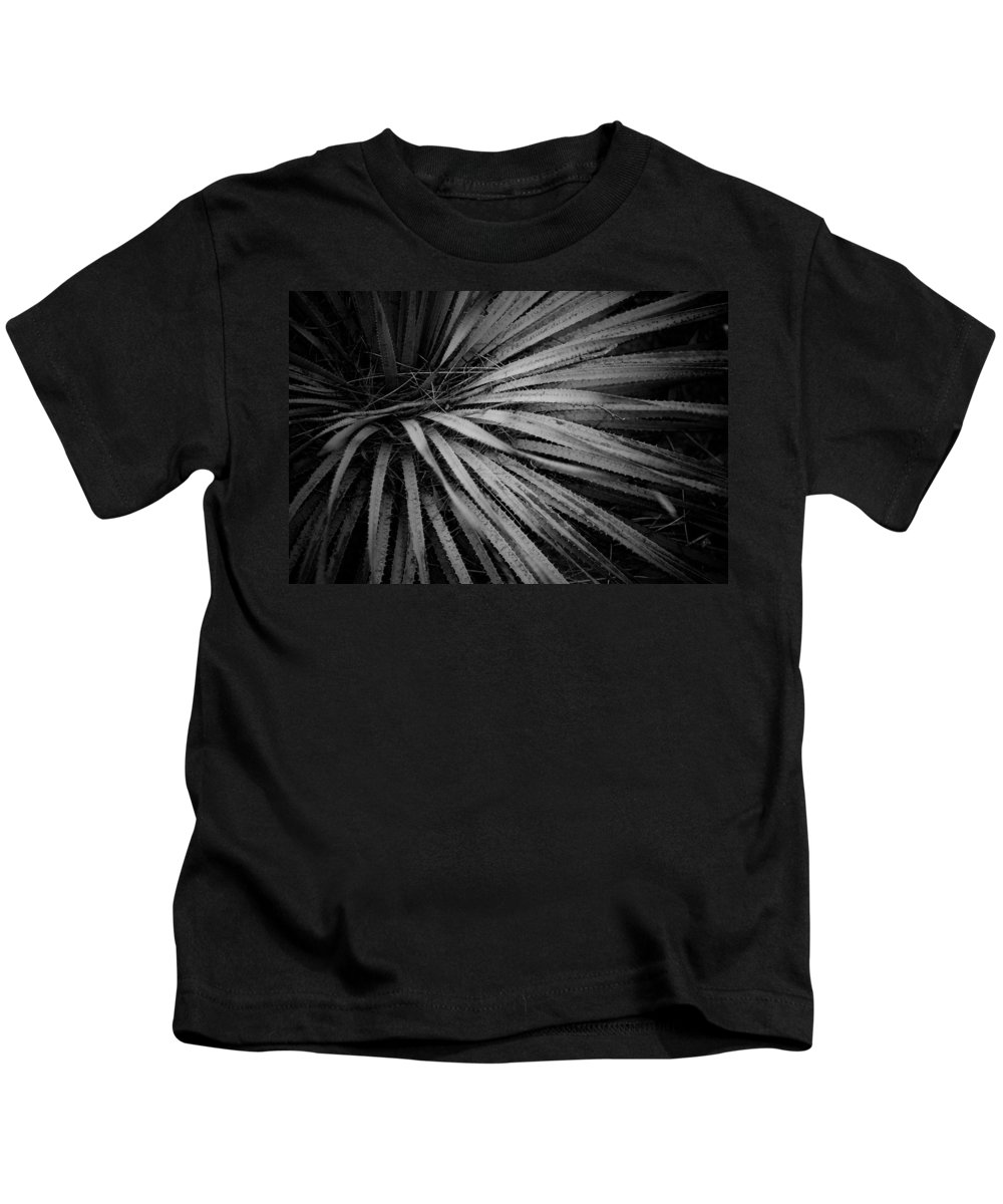 Botanicals Kids T-Shirt featuring the photograph Cactus 5250 by Timothy Bischoff