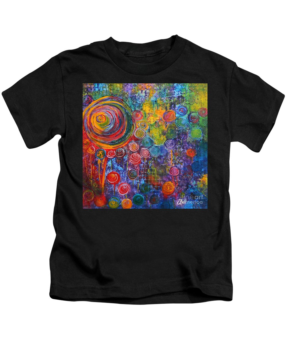 Candy Kids T-Shirt featuring the painting Candyland by Claire Bull