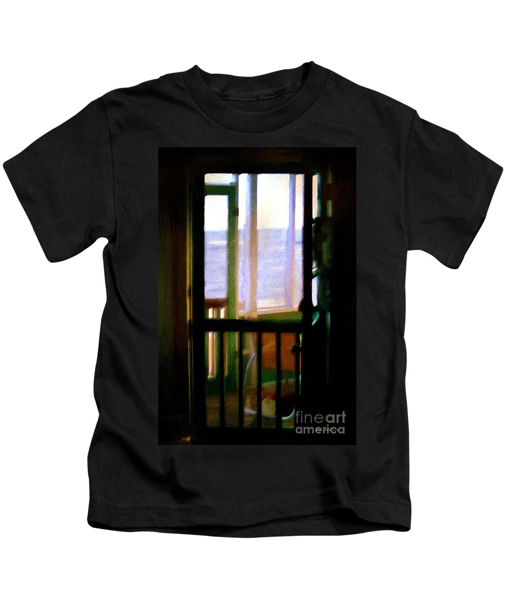 Beach Kids T-Shirt featuring the painting Carolina Morning by RC DeWinter