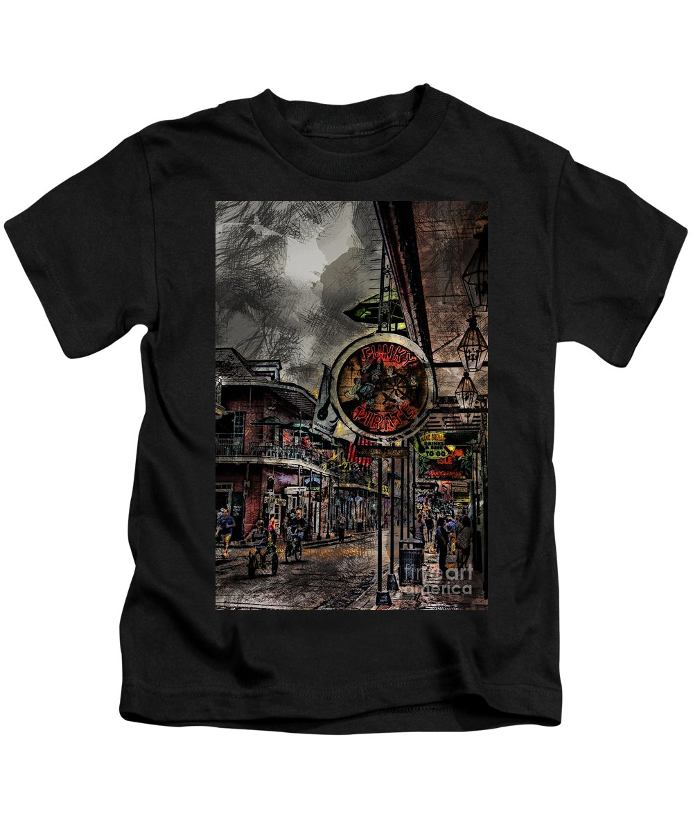 Characteristics Kids T-Shirt featuring the photograph Characteristics Of New Orleans V5 by Douglas Barnard