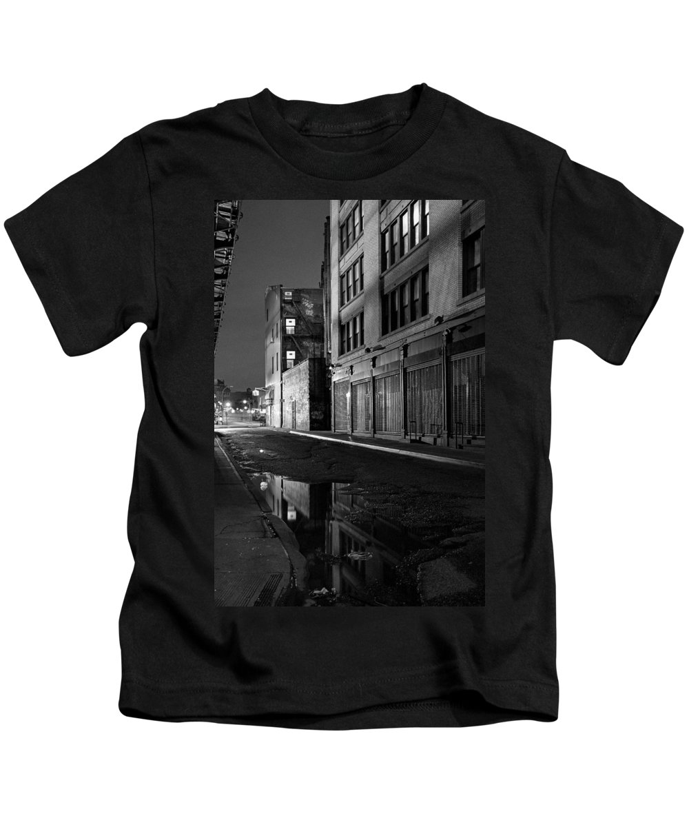 Chinatown Kids T-Shirt featuring the photograph Chinatown New York City - Forsythe Street by Gary Heller