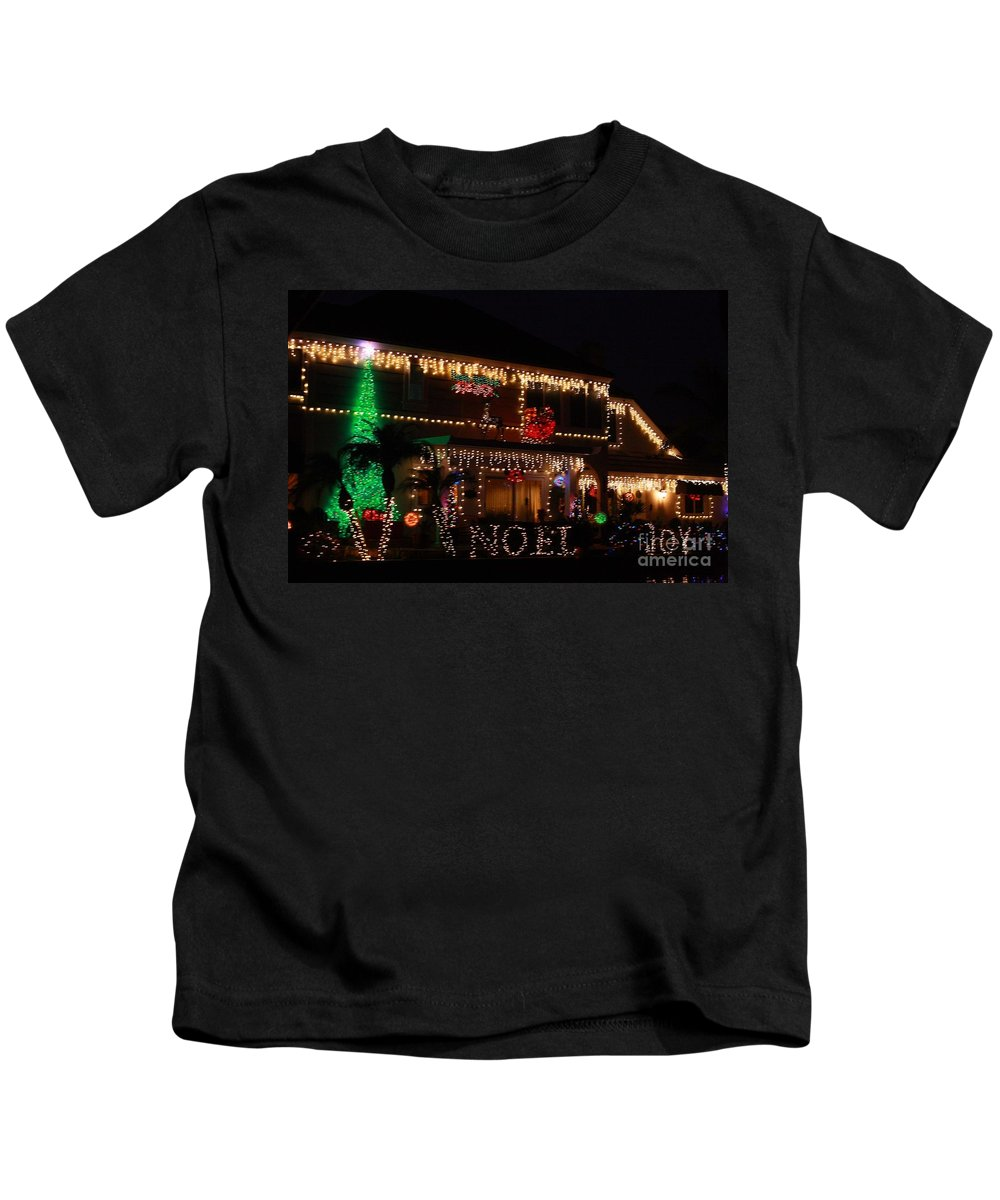 East Lake Kids T-Shirt featuring the photograph Christmas On East Lake by Tommy Anderson
