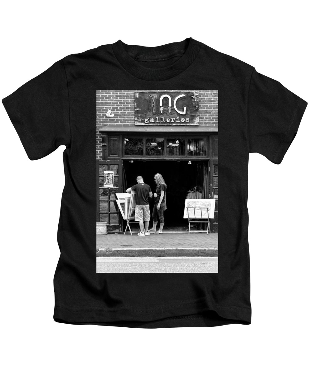 Baltimore Kids T-Shirt featuring the photograph City - Baltimore Md - Tag Galleries by Mike Savad
