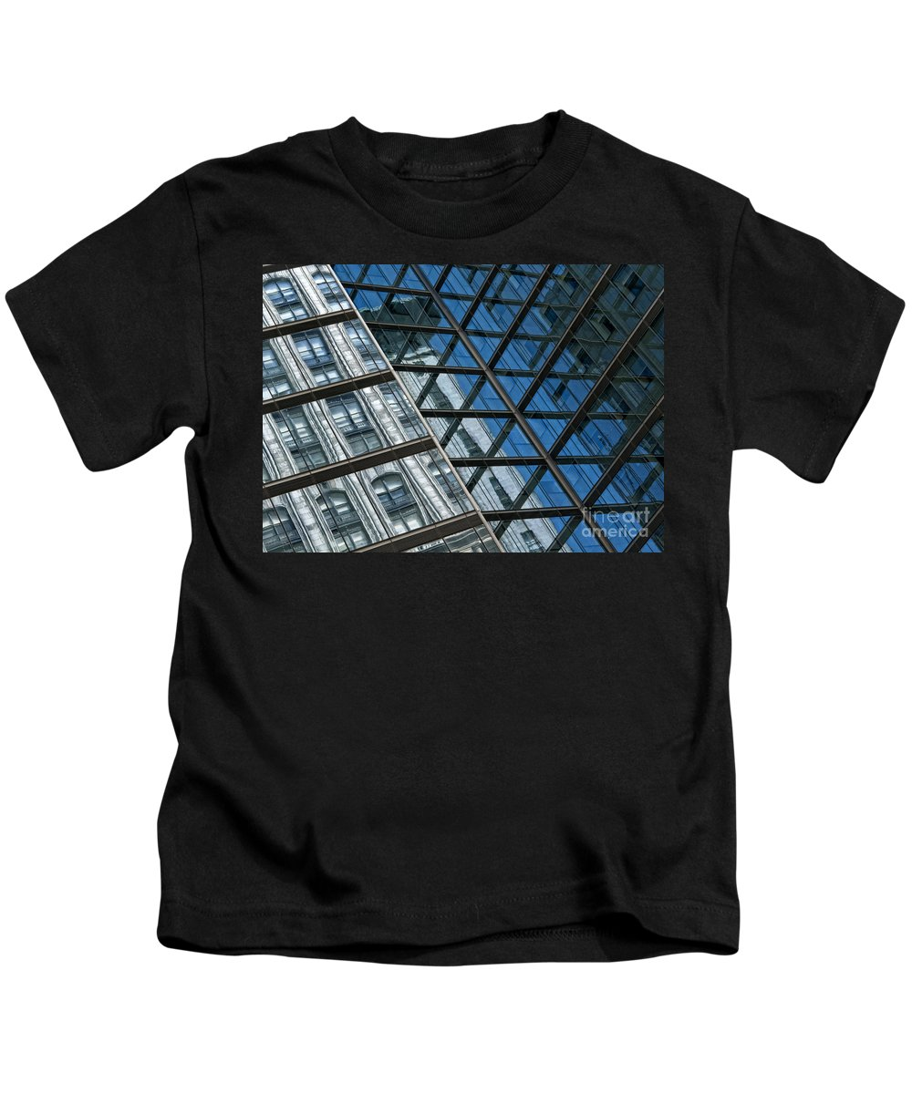 Architecture Kids T-Shirt featuring the photograph City Combo by Claudia Kuhn