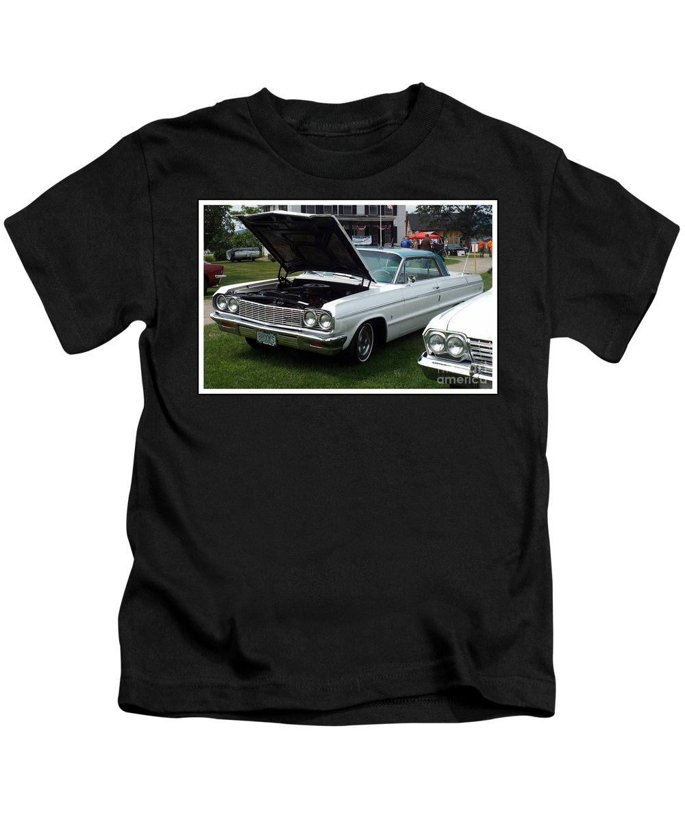 Car Show Kids T-Shirt featuring the photograph Classic Car by Rebecca Malo