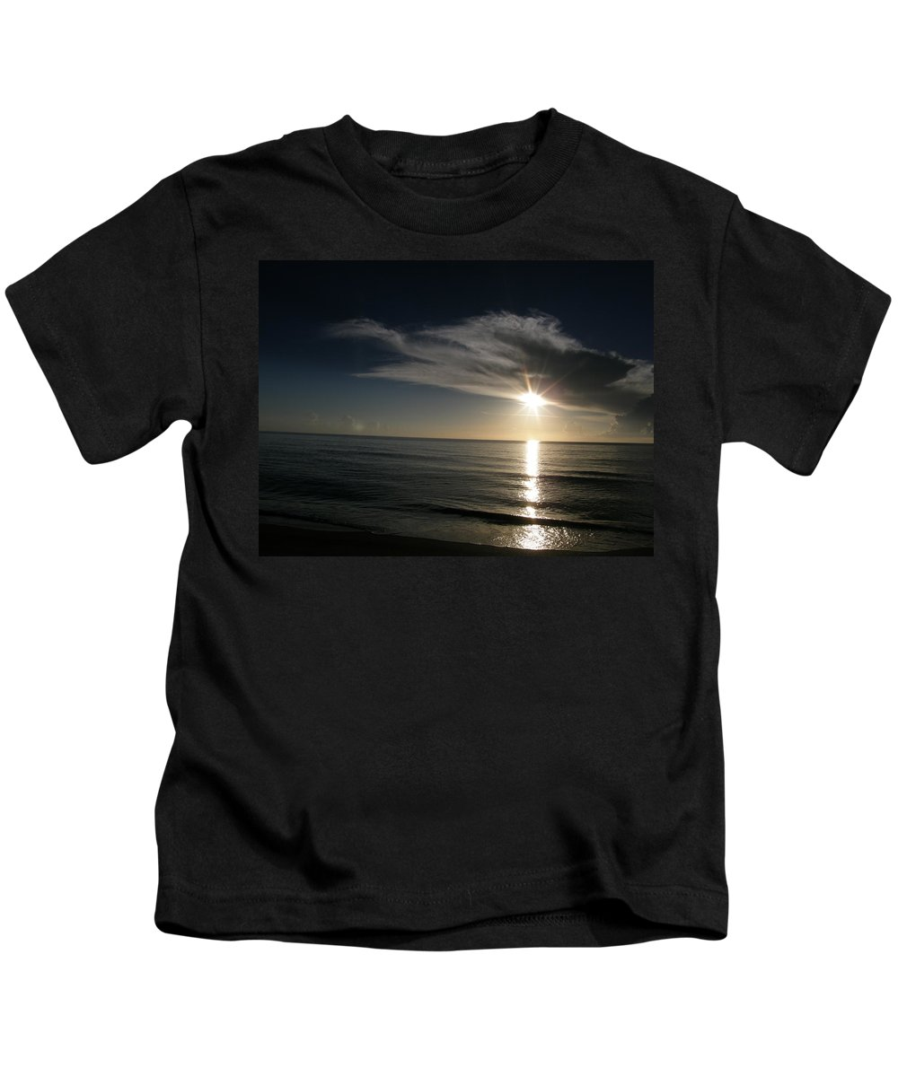 Kids T-Shirt featuring the photograph Cloud Cover by Kimberly Mohlenhoff