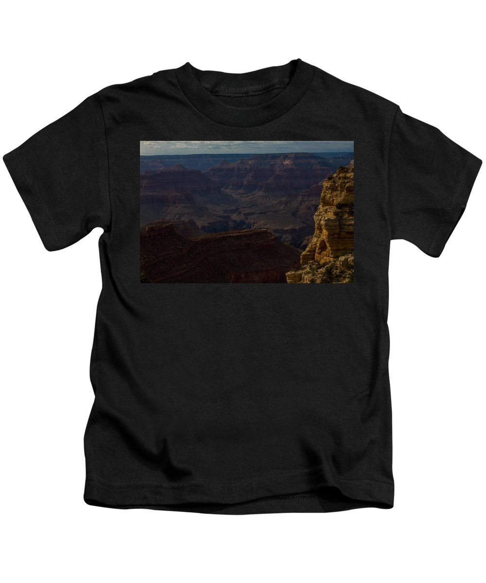 Grand Canyon Kids T-Shirt featuring the photograph Colorful Canyons by Kathleen Odenthal