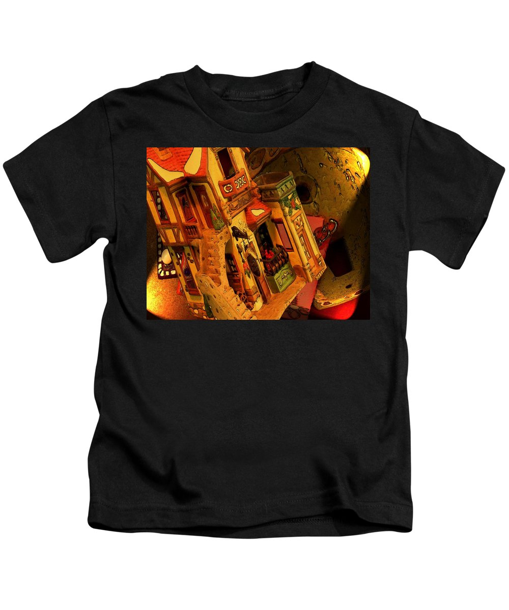 Vibrant-color Kids T-Shirt featuring the digital art Colors by Tristan Armstrong