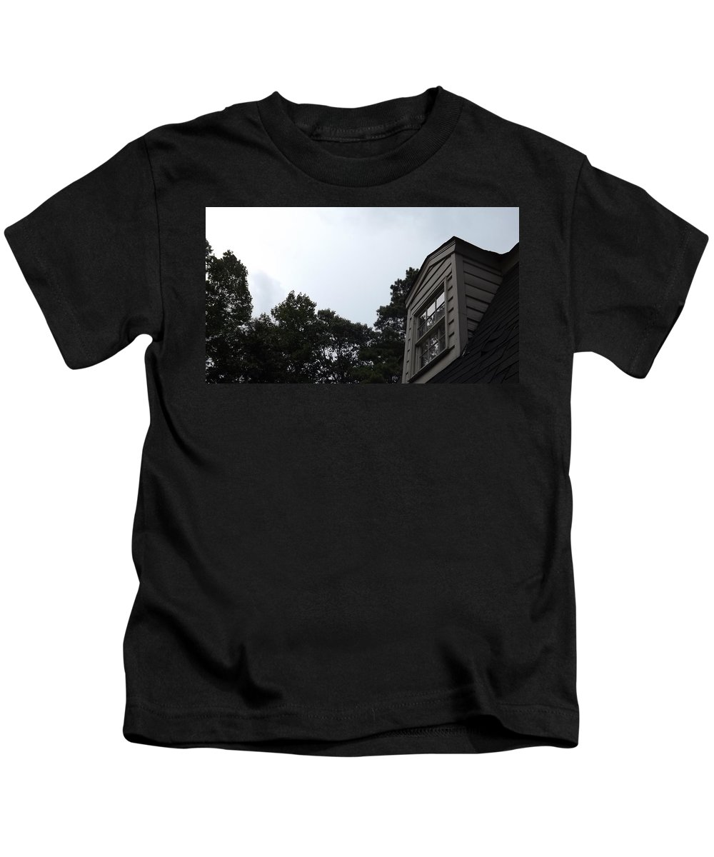 Nature Kids T-Shirt featuring the photograph Cottage by Keegan Hall