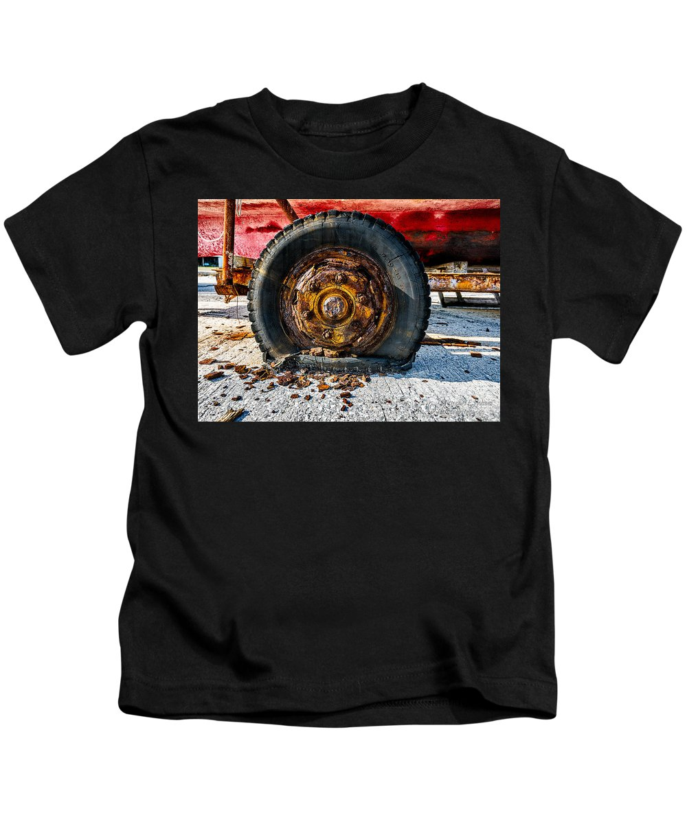Christopher Holmes Photography Kids T-Shirt featuring the photograph Crusty by Christopher Holmes