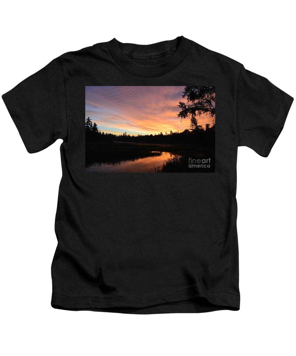 Sunrise Kids T-Shirt featuring the photograph Dawn by Thomas Phillips