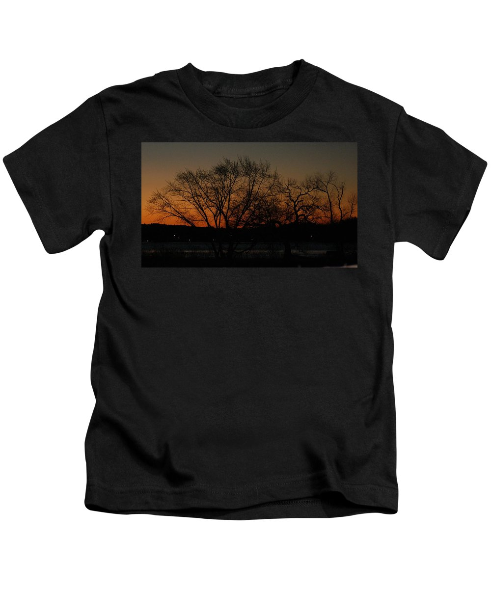 Dawn Kids T-Shirt featuring the photograph Dawns Early Light by Joe Faherty
