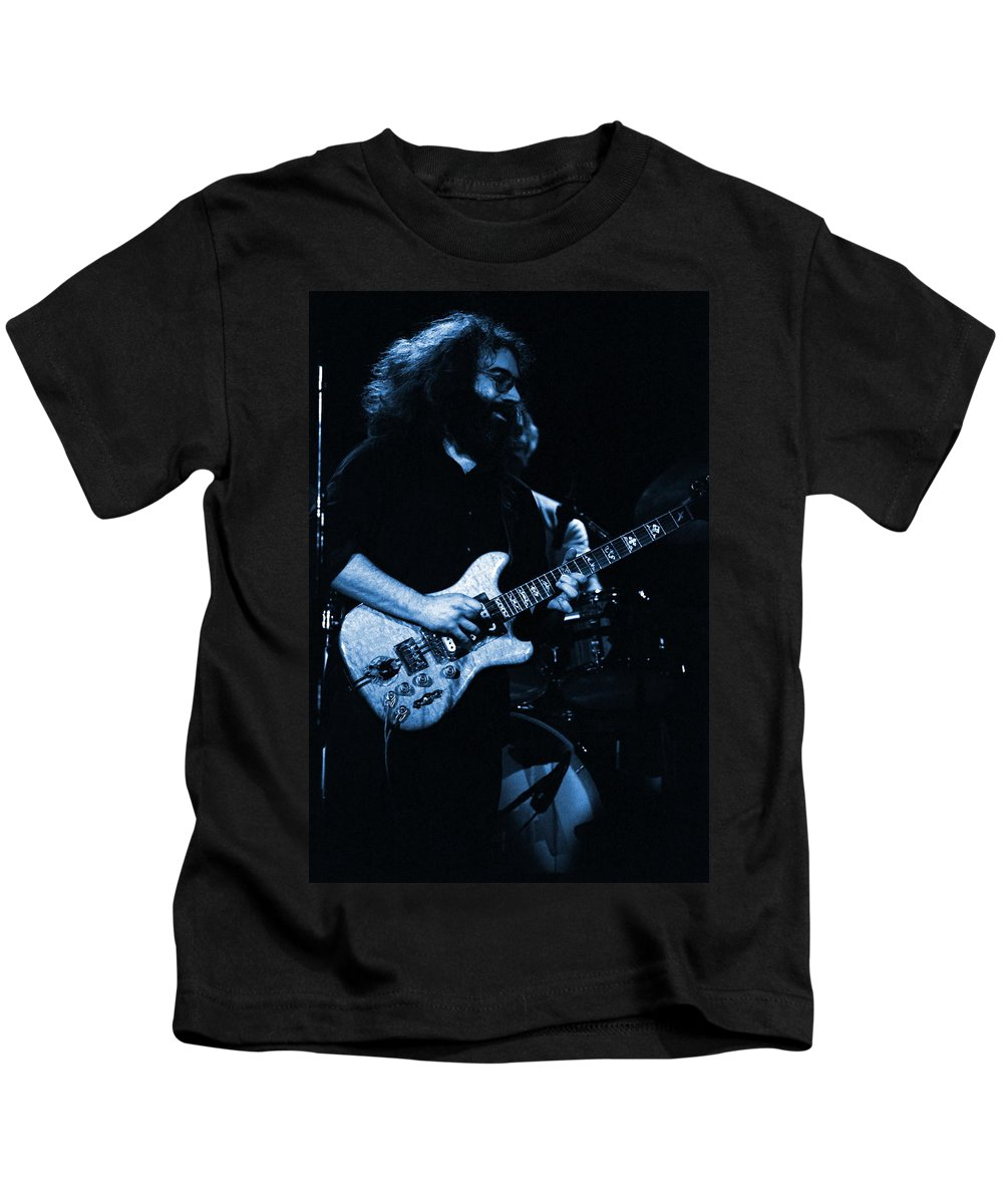 Grateful Dead Kids T-Shirt featuring the photograph Dead #13 In Blue by Ben Upham