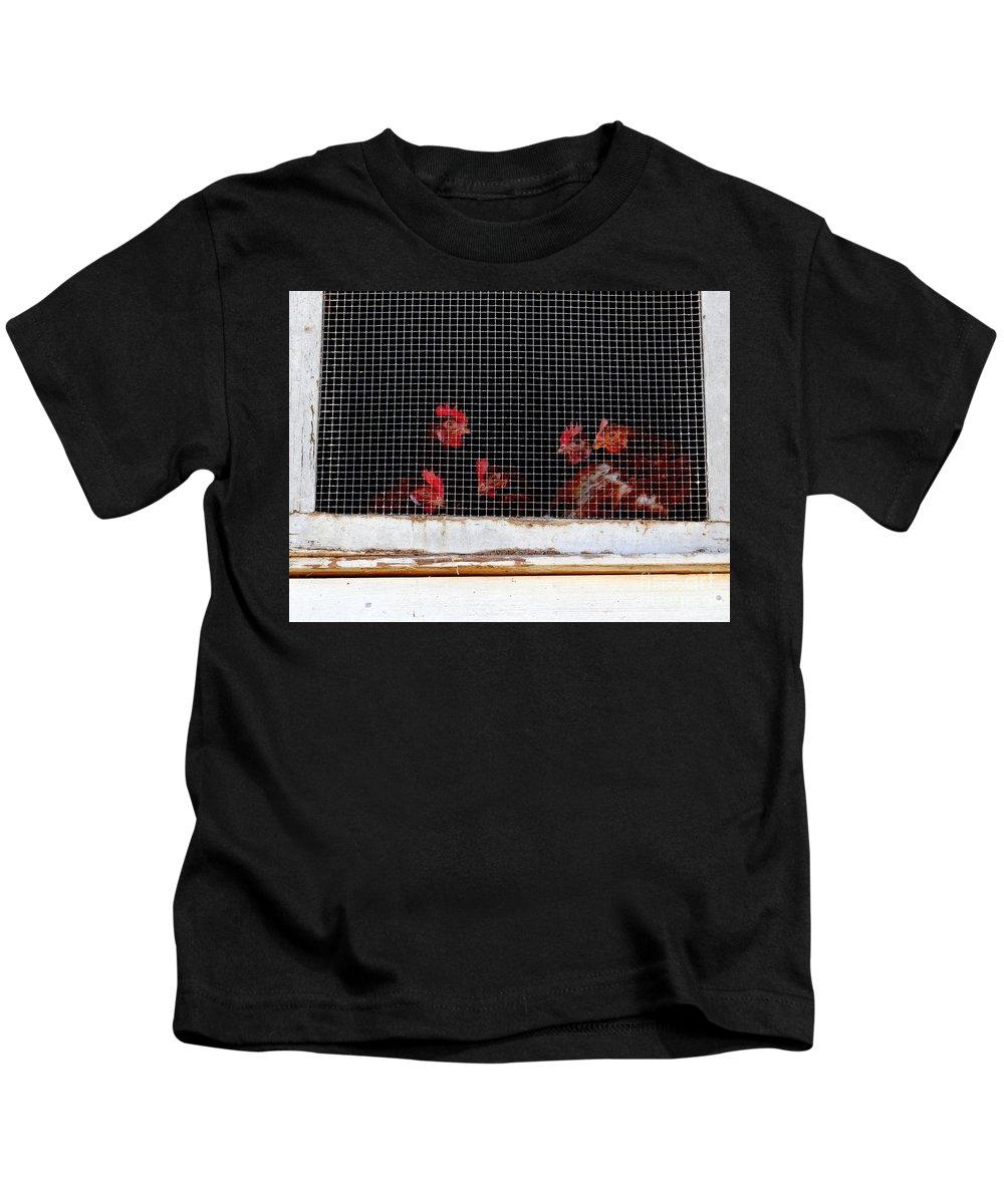 Farm Kids T-Shirt featuring the photograph Death Row by Ed Weidman