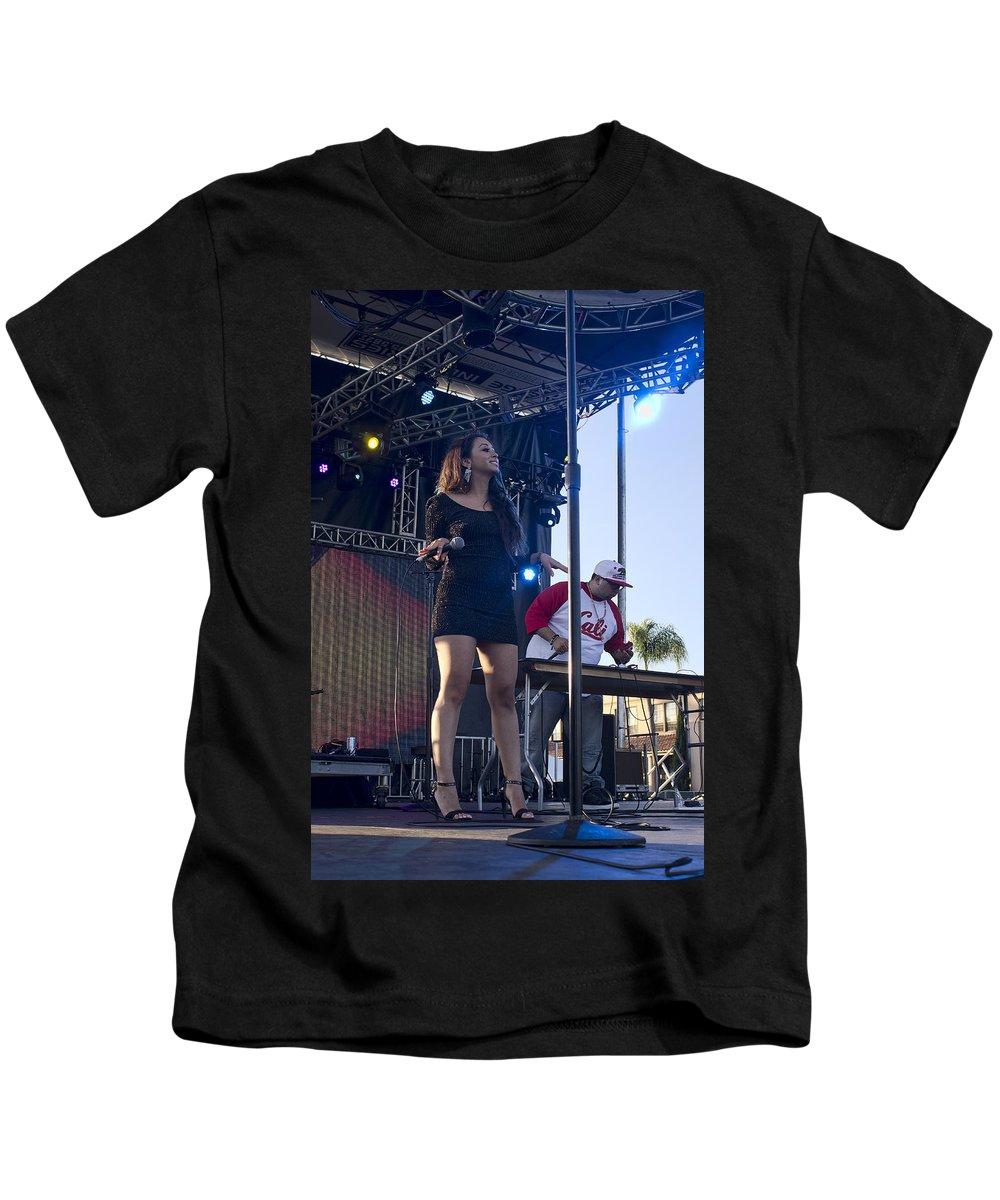 Estrada Kids T-Shirt featuring the photograph Desiree Estrada by Hugh Smith