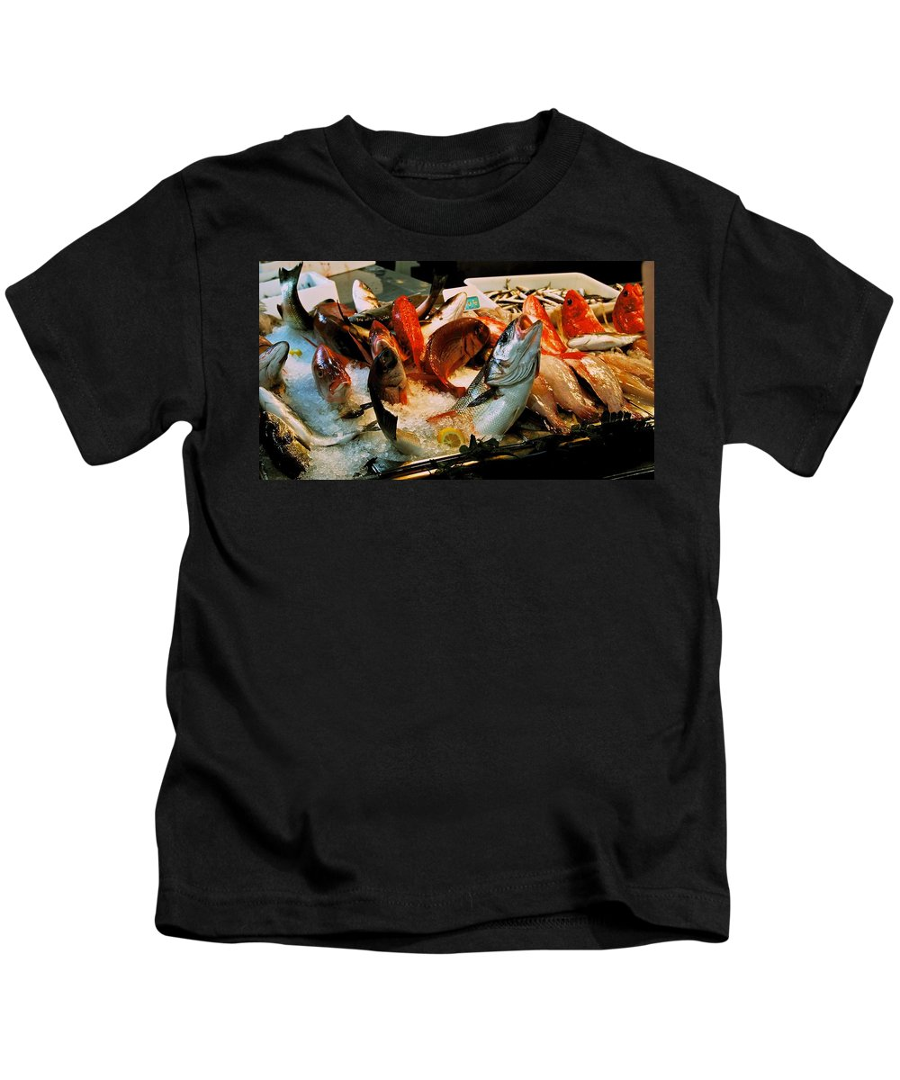 Fish Kids T-Shirt featuring the photograph Display Fish by Eric Tressler