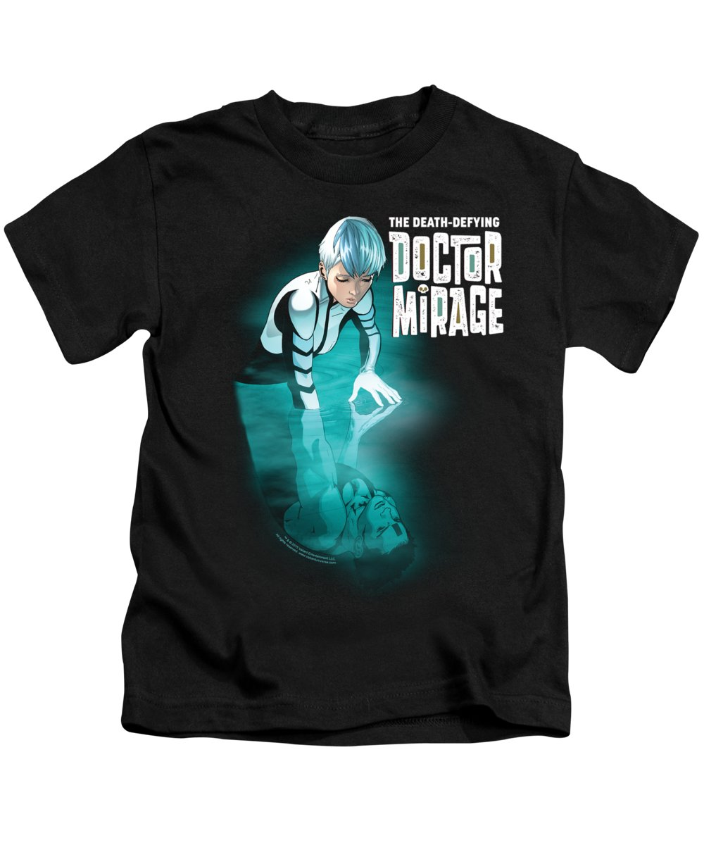 Kids T-Shirt featuring the digital art Doctor Mirage - Crossing Over by Brand A