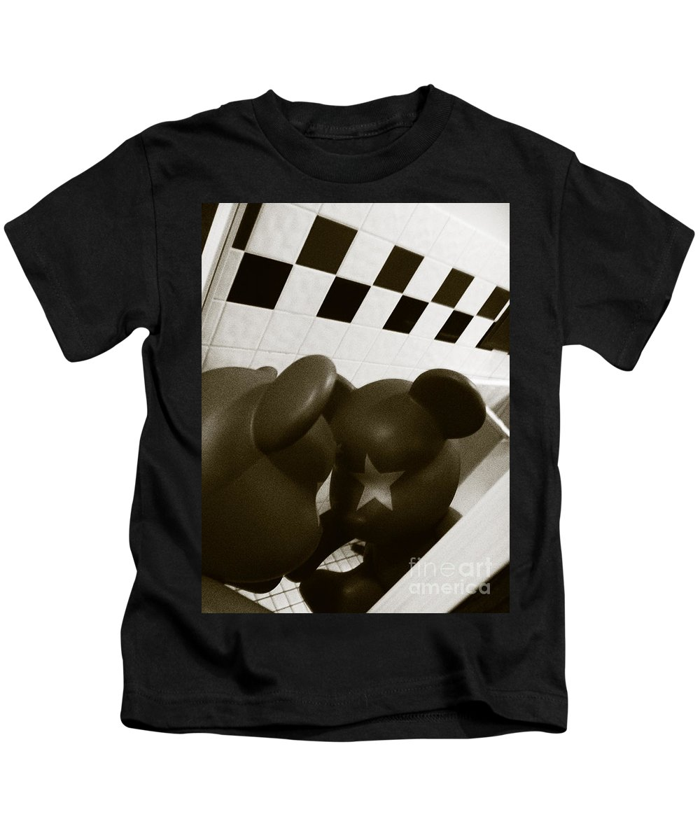 Abstract Kids T-Shirt featuring the photograph Doll No. 9 by Fei A