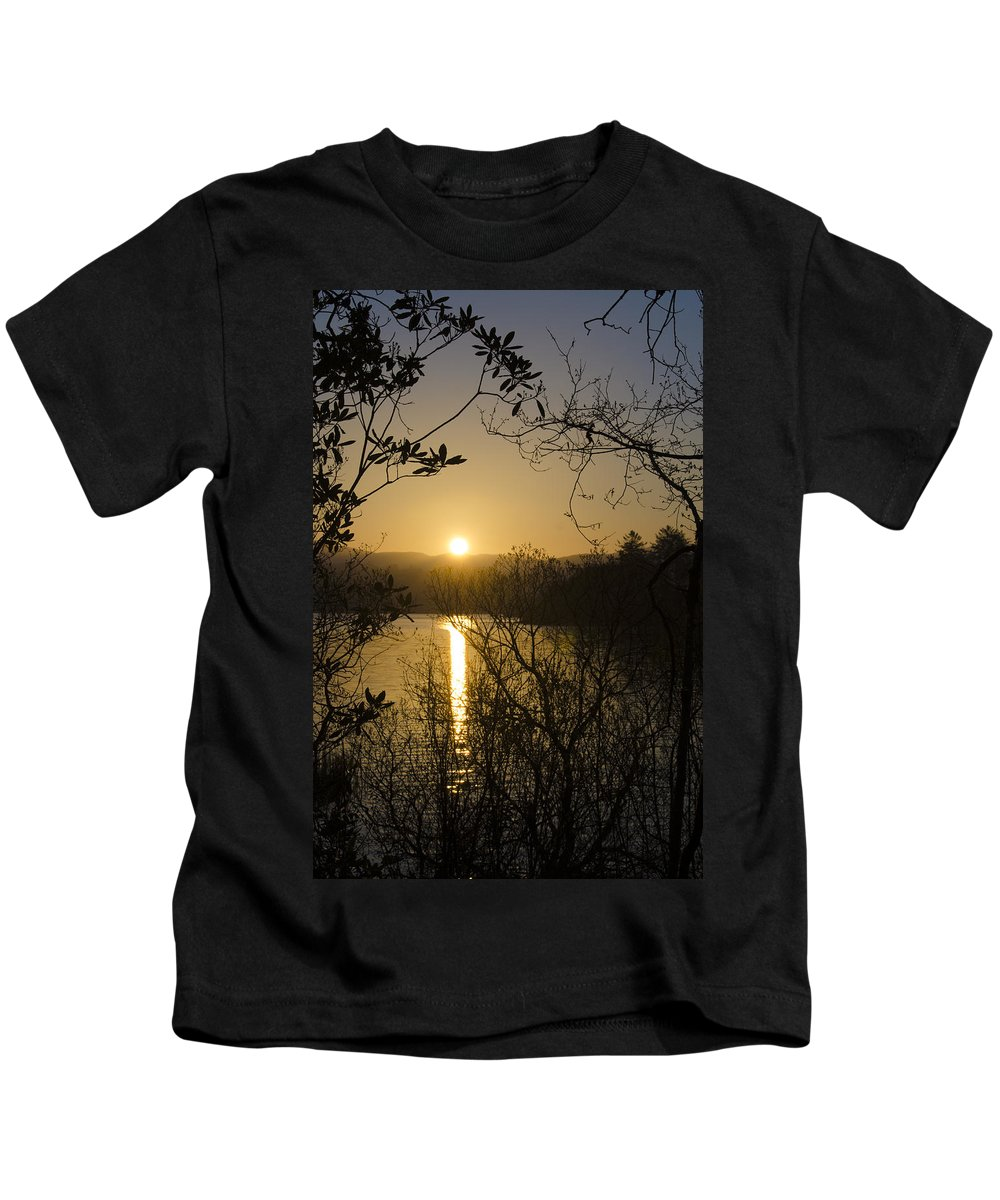 Donegal Kids T-Shirt featuring the photograph Donegal Morning - Lough Eske by Bill Cannon