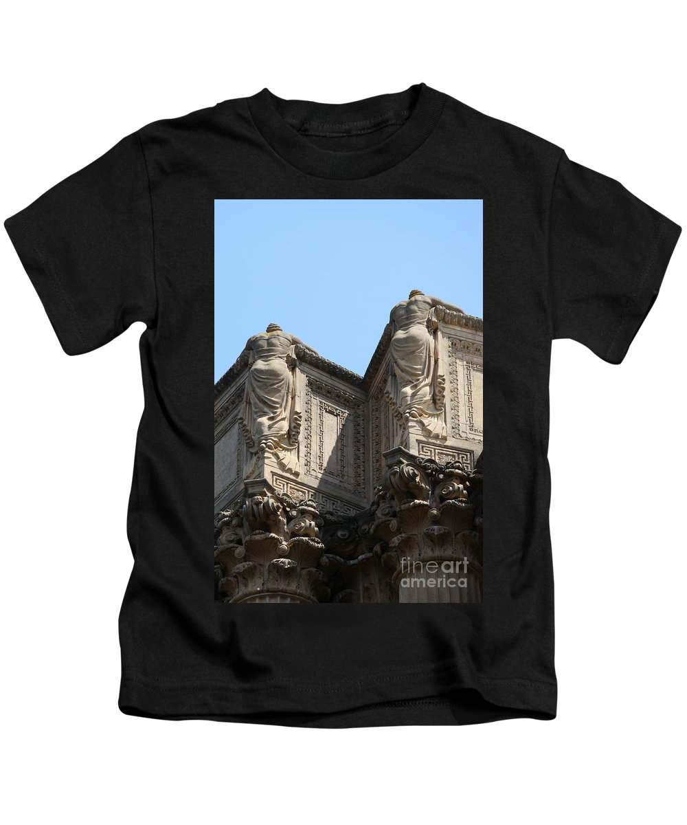 Palace Of Fine Arts Kids T-Shirt featuring the photograph Don't Want To Face The Facts by Christiane Schulze Art And Photography