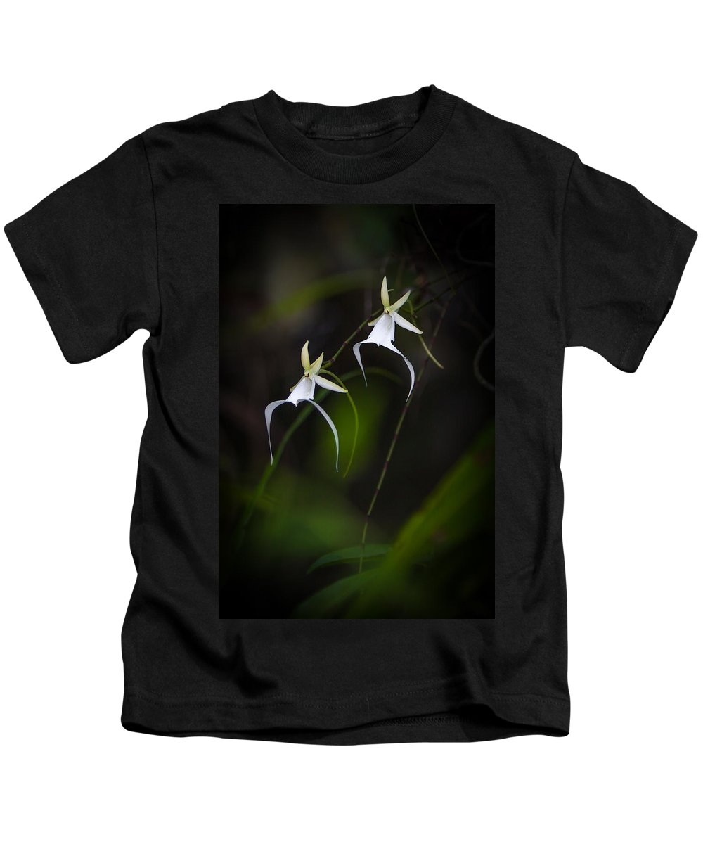 Kids T-Shirt featuring the photograph Double Ghost by Dennis Goodman