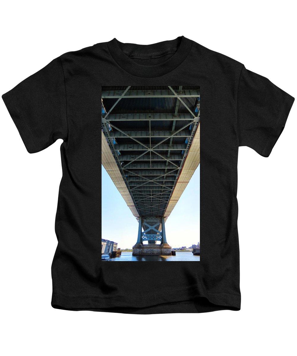 Benjamin Kids T-Shirt featuring the photograph Down Under by Art Dingo