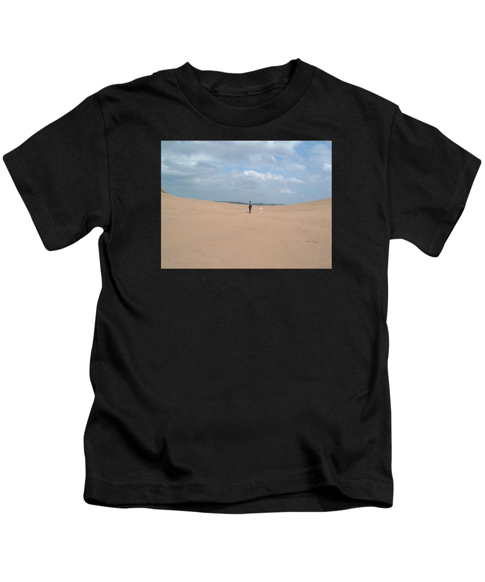 Dune Kids T-Shirt featuring the photograph Dune by Richard Brookes