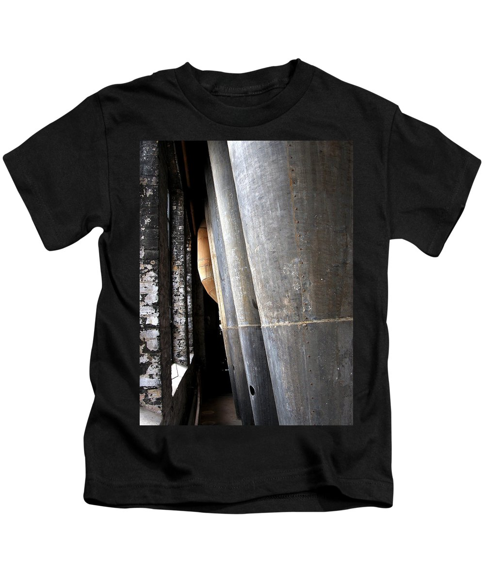 Mill Kids T-Shirt featuring the photograph Dust Collectors by David Berg
