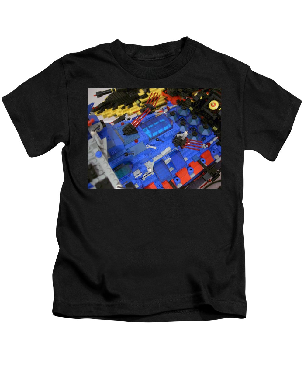 Legos Kids T-Shirt featuring the photograph Dynon Detail by Zac AlleyWalker Lowing