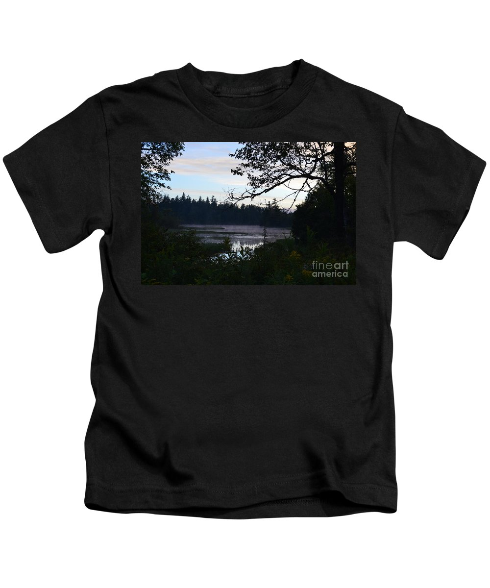 Sunrise Kids T-Shirt featuring the photograph Early Morning by Thomas Phillips