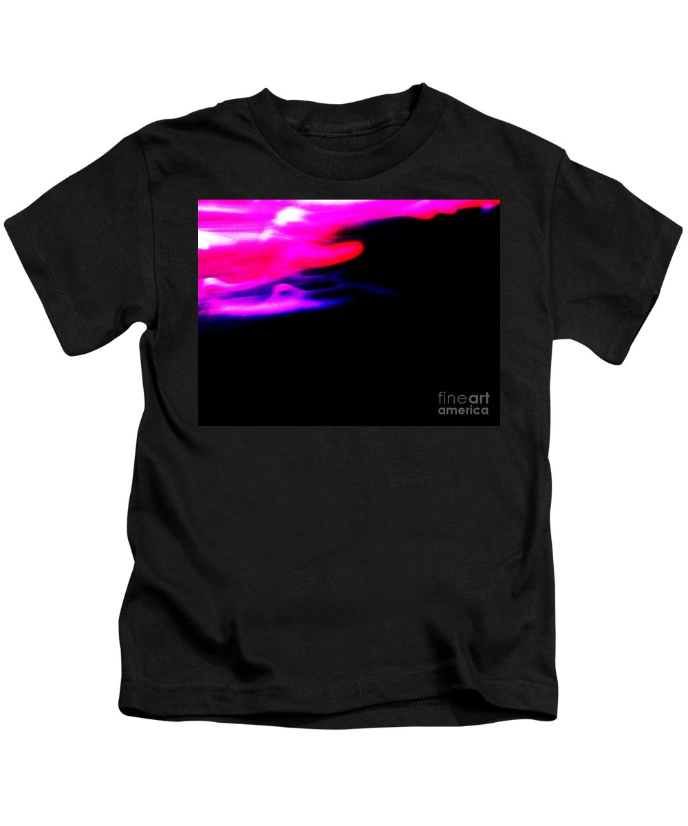 Edge Of Space Kids T-Shirt featuring the photograph Edge Of Space Abstract by Eric Schiabor